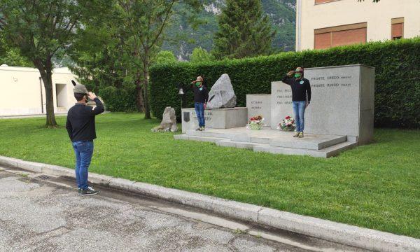 Un omaggio alle gesta dei caduti